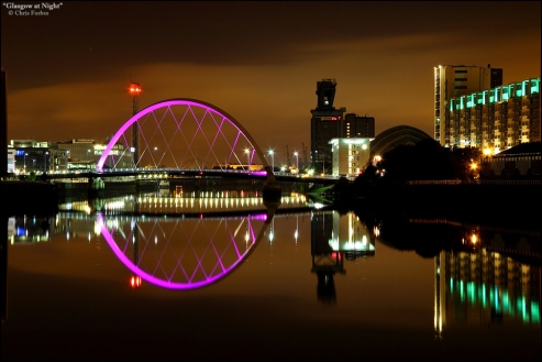 glasgow-at-night